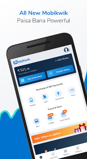 Recharge, Payments & Wallet screenshot 1
