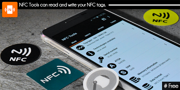 NFC Tools Screenshot