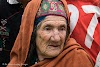 Pakistan Culture of the Kalash Valley Pakistan // A beautiful old lady in Gulag Muli featuring traditional hat and braids