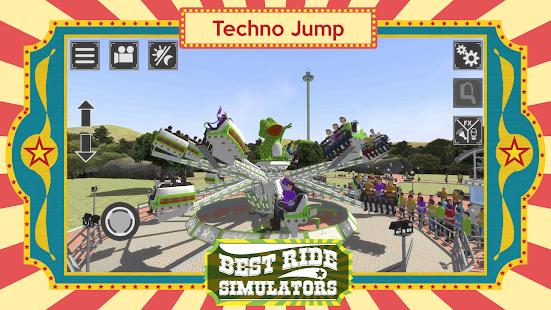 Techno Jump - Best Ride Simulators Mod