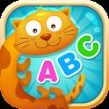 English alphabet game for kids icon