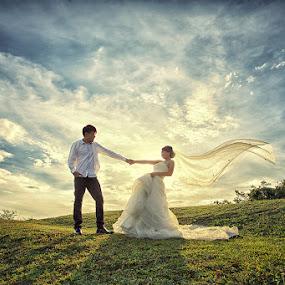 by Nalson Chong - Wedding Bride & Groom ( wedding photography, wedding, art, wedding photographer )