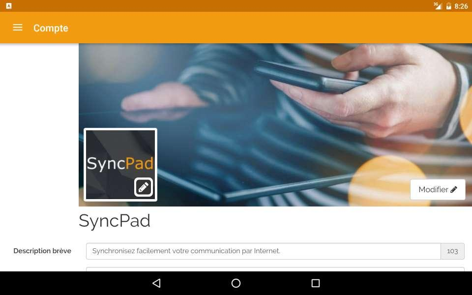 SyncPad Manager- screenshot