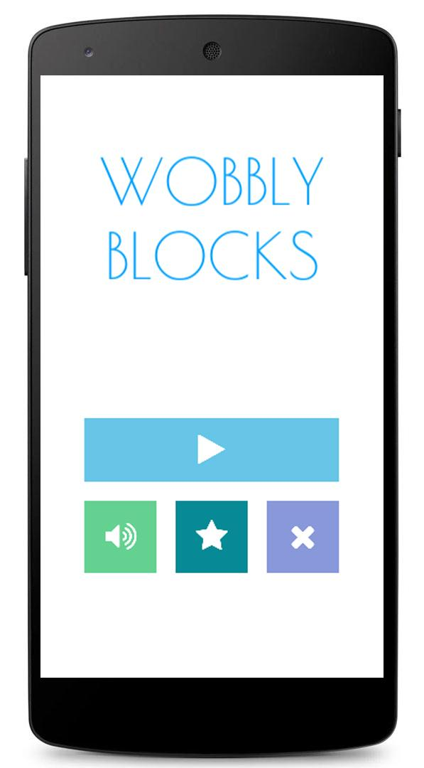 Скриншот Wobbly Blocks