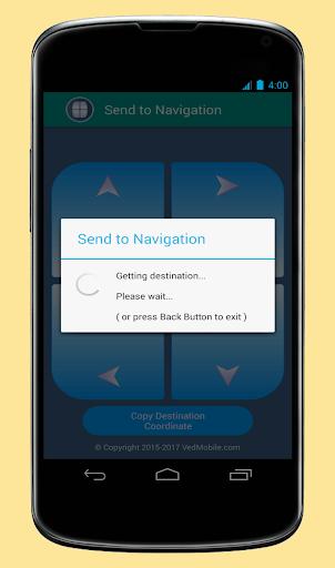 Send to Navigation 2.3.0 screenshots 2