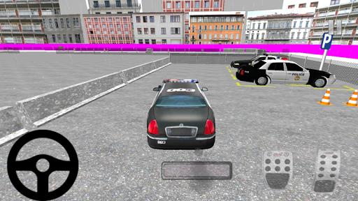 玩免費賽車遊戲APP|下載警察駐車場3D HD app不用錢|硬是要APP