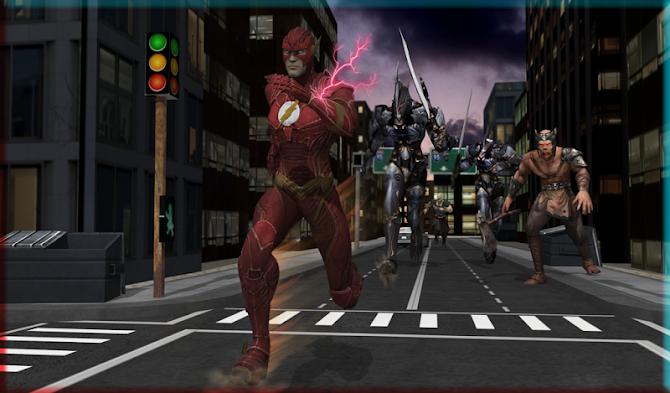 Flash Boy Hero Lightning Strike Android 13