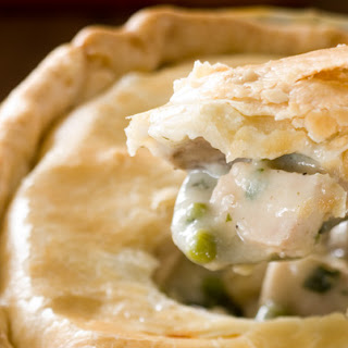 Chicken Pot Pie with Piecrust Topping