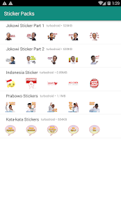 Stiker WA Capres Jokowi Prabowo for PC-Windows 7,8,10 and Mac apk screenshot 1