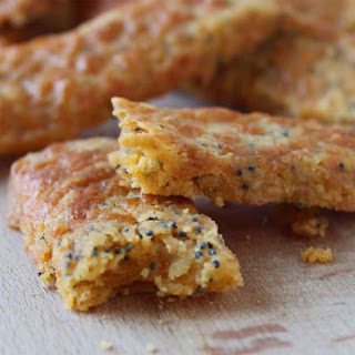 Gluten Free Cheese And Poppy Seed Biscuit