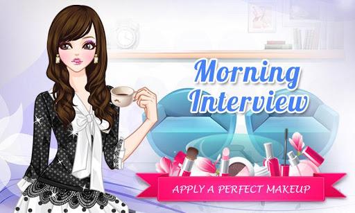 朝のインタビュー