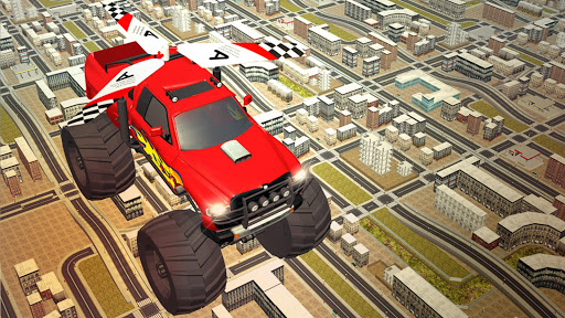 Flying Truck Pilot Driving 3D screenshots 10