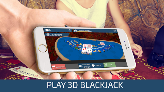 Blackjack 3D: miniatura da captura de tela