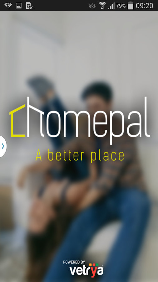 Homepal- screenshot