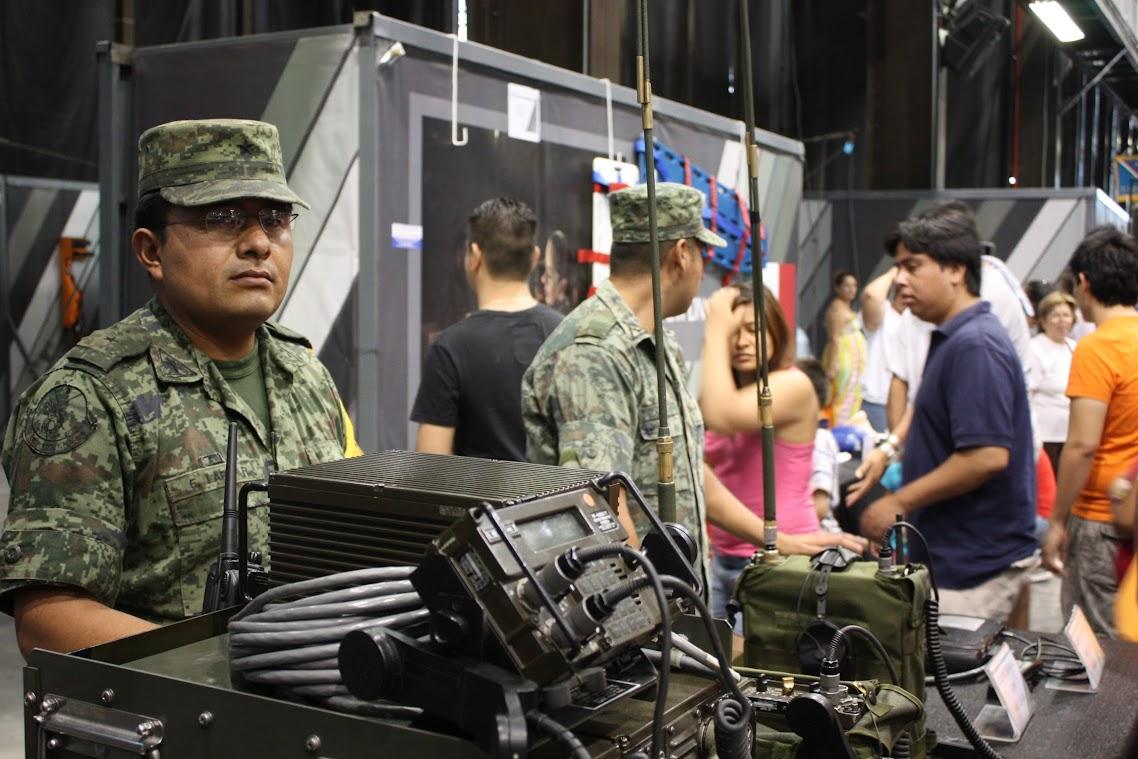 Soldier exhibit