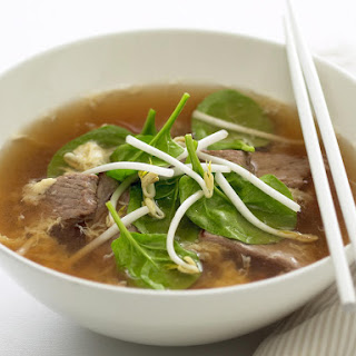 Beef Egg Drop Soup