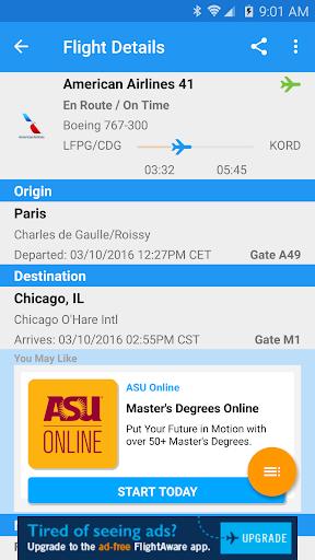 FlightAware Flight Tracker 5.5.1 screenshots 3