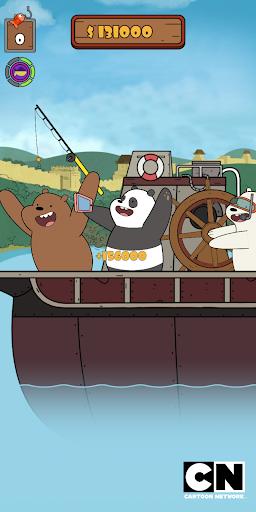 We Bare Bears: Crazy Fishing 1.0.4-google screenshots 11