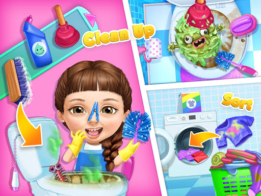 Sweet Baby Girl Cleanup 5 - Messy House Makeover  screenshots 21