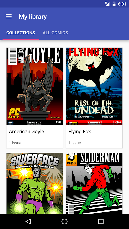 Comic Reader- screenshot