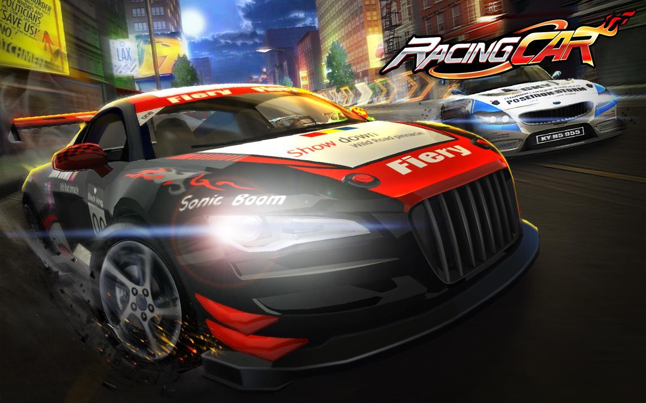 racing car screenshot