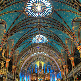 Basilique Notre-Dame de Montréal by Dmitriy Andreyev - Buildings & Architecture Places of Worship