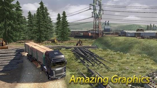 Truck Simulator 1.0 Android Mod + APK + Data 3