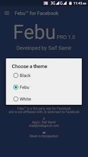 Febu PRO for Facebook & Messenger - All Social Net Screenshot
