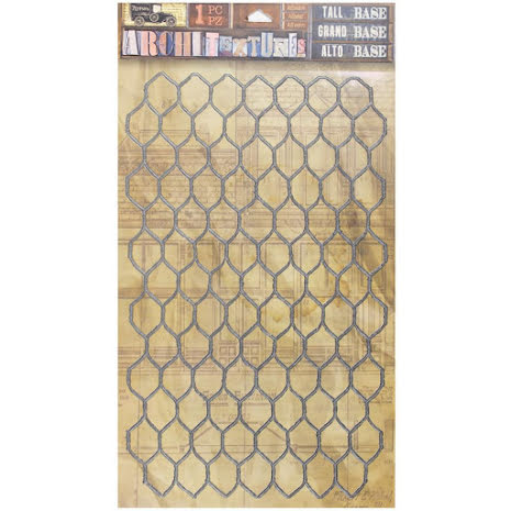 7 Gypsies Architextures Adhesive Tall Base 9X6 - Chicken Wire UTGÅENDE