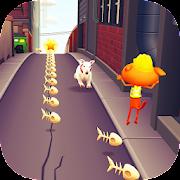 Super Cat Runner : Fun run game APK