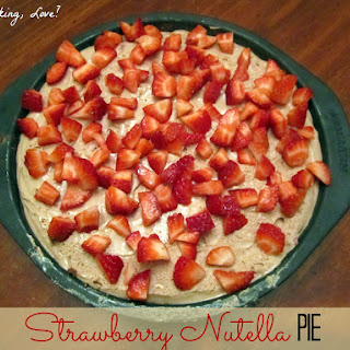 Strawberry Nutella Pie