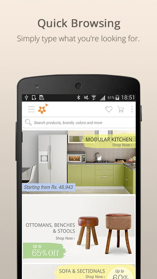Fabfurnish furniture store android apps on google play for Furniture app