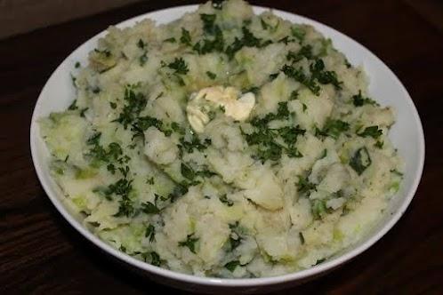 Colcannon - Traditional Irish Dish