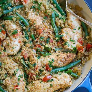 One-Pot Chili Lime Chicken & Quinoa.