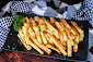 BEST OVEN BAKED FRIES AND POTATO WEDGES Recipe