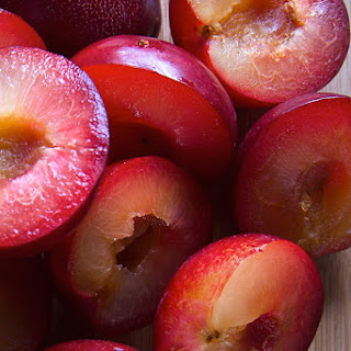 Red Plum-Ginger-Jalapeño Chutney.