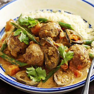 Spiced Indian Meatballs