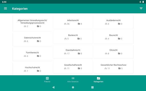Lawdroid – Deutsche Gesetze und EU-Recht screenshot 21
