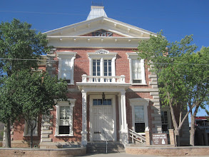 Photo: Tombstone Courthouse, built in 1882... now converted into the Wyatt Earp Museum