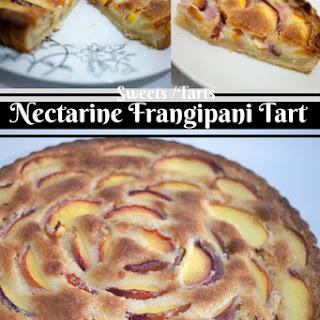 Nectarine Frangipani Tart Recipe