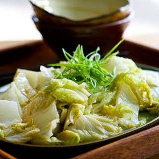 Stir Fried Chinese Napa Cabbage.