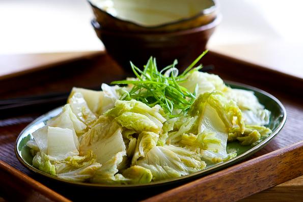 Stir Fried Chinese Napa Cabbage Recipe