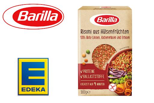 Bild für Cashback-Angebot: Barilla Risoni Rote Linsen, Kichererbsen, Erbsen bei Edeka Nordbayern - Barilla