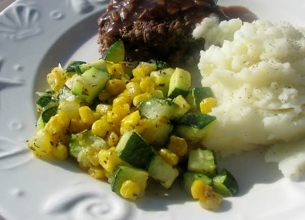 Zucchini And Corn With Cheese Recipe
