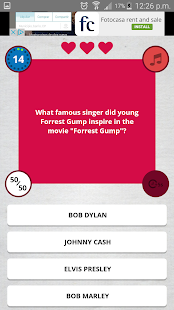 Movie Trivia Quiz- screenshot thumbnail