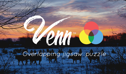 Venn Sunrises: Circle Jigsaw- screenshot thumbnail