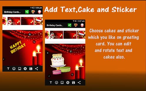 Happy Birthday Card Maker - náhled