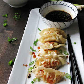 Homemade Gyoza and the Best Dipping Sauce Ever Recipe
