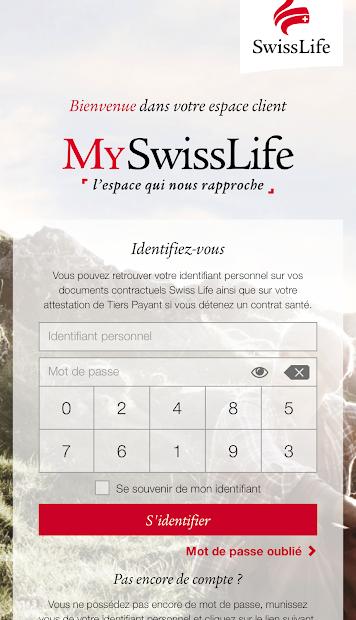 MySwissLife Android App Screenshot