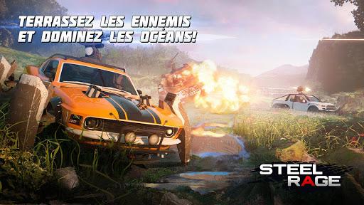 Steel Rage: Shooter JcJ de véhicules robots  captures d'écran 2